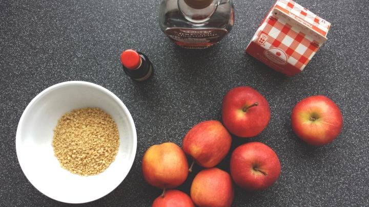 Gammeldags æblekage, tarta de manzana danesa a miestilo