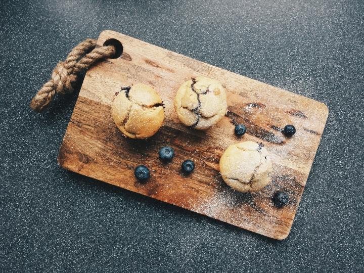 Deliciosos y fáciles muffins dearándanos