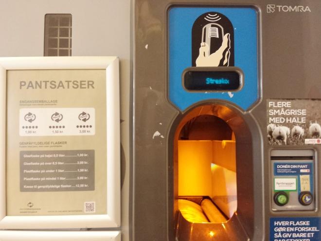 Flaskepant, sistema de reciclaje danés
