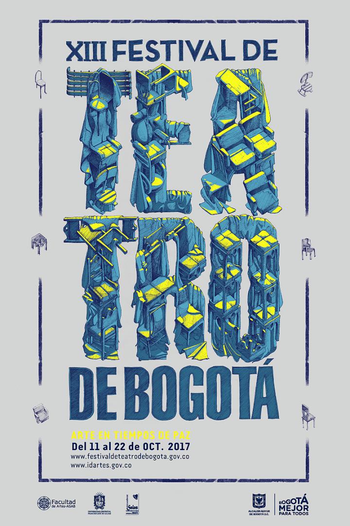 Teatro gratis para inaugurar el XIII Festival de Teatro deBogotá