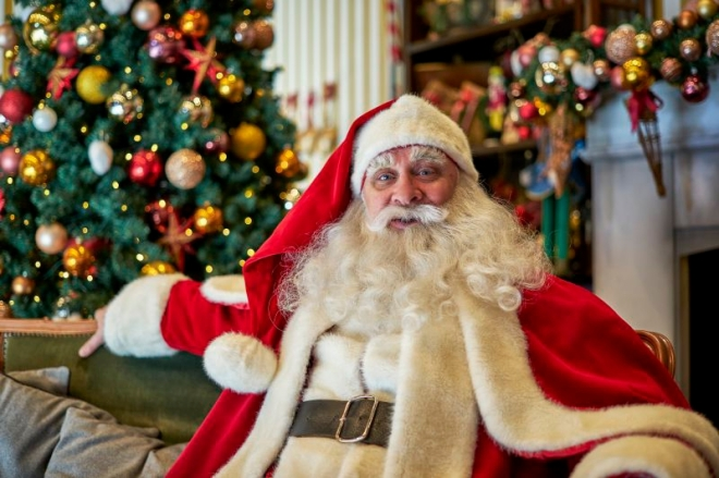 Santa en el Tivoli