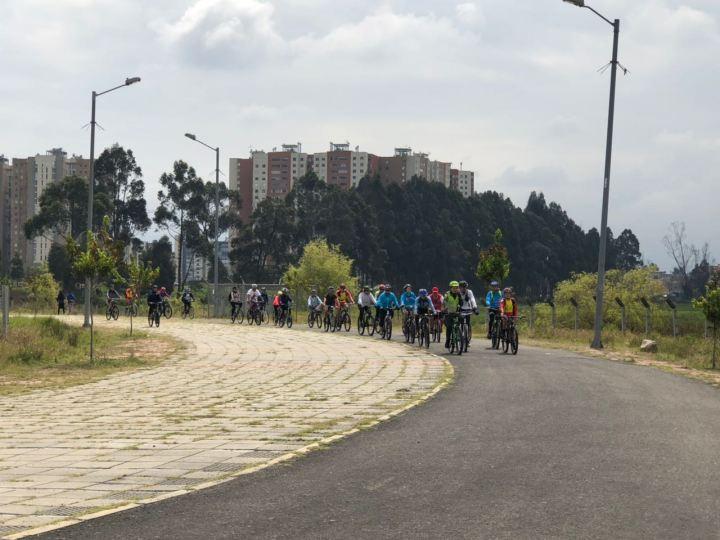 Recorrido en Bicicleta 18 de marzo en Bogotá